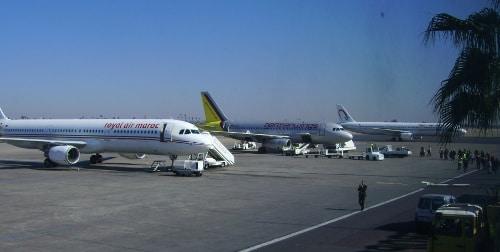 Marokko: Airport Marrakech