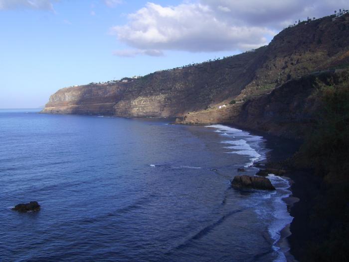 Tenerife Westküste mit kleinen Stränden