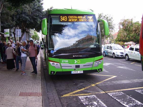 Schnellbus von Puerto Cruz nach Costa Adeje