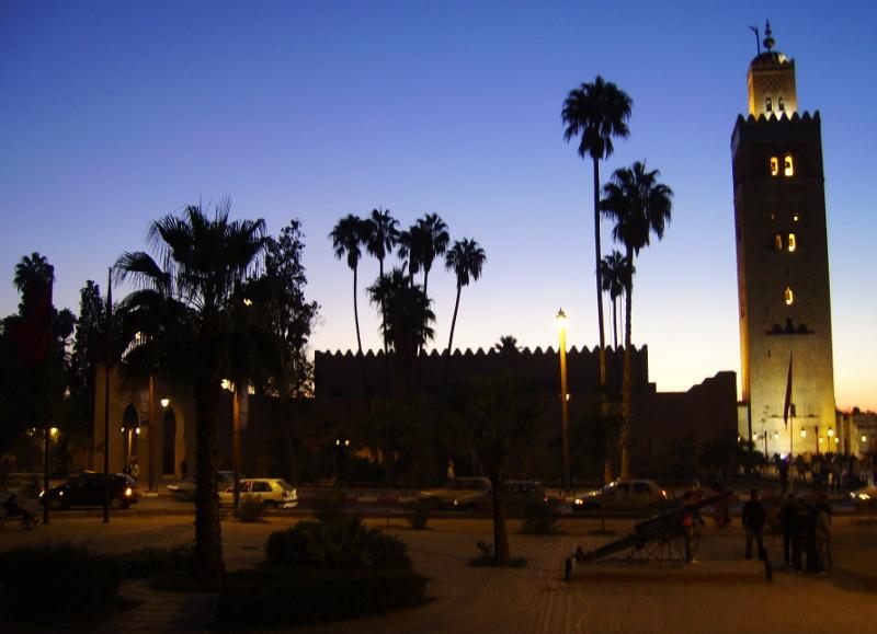 Koutuba Moschee in Marrakesch