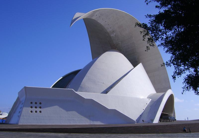 Konzerthaus in Santa Cruz de Tenerife