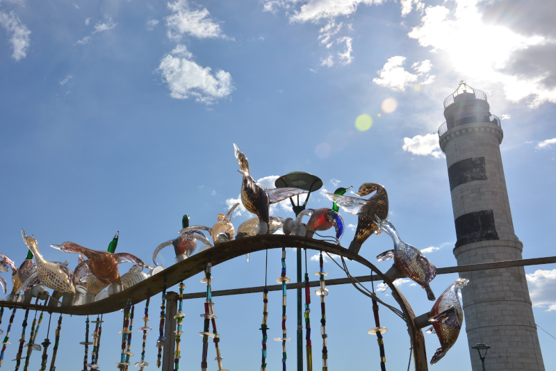 Venedig - Glaskunst Murano Leuchtturm