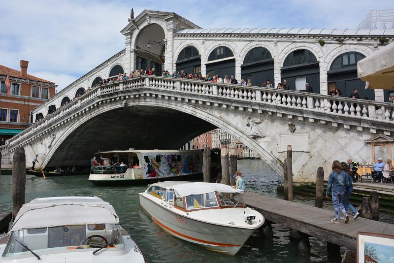 Venedig Rialto-Brücke