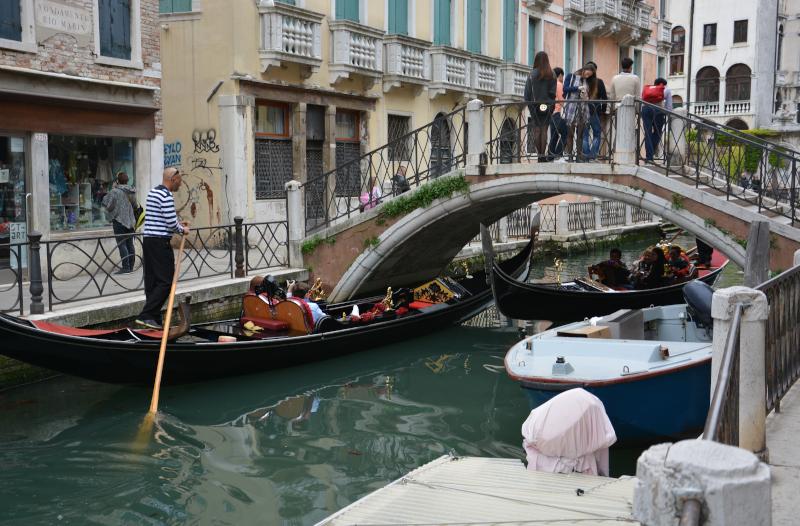 Venedig Gondolieri