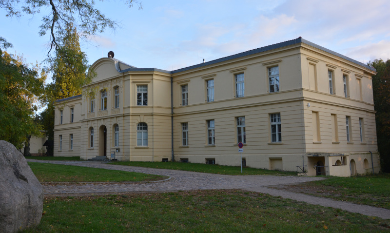 Schloß (Manor House in  Gerswalde/ Uckermark