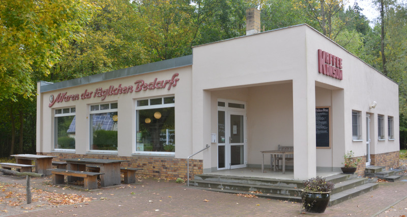 Kaffee-KONSUM  Wolletz / Uckermark Radtour