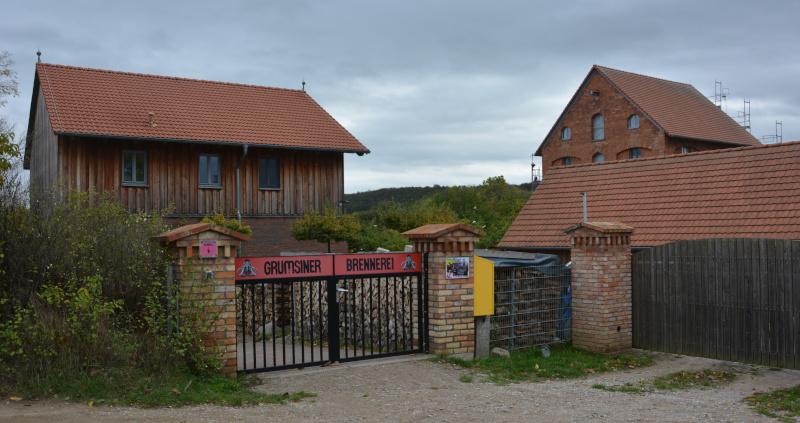 Radtour Uckermark : Grumsin Brennerei