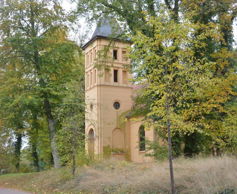 Angermünde: Kirche Görlsdorf / Uckermark - Radtour