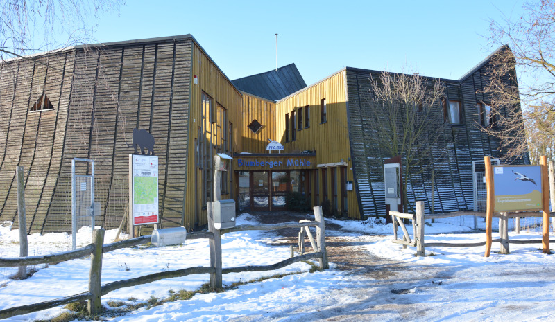 Infocenter for biosphere reserve Blumberger Mühle in Angermünde / Uckermark