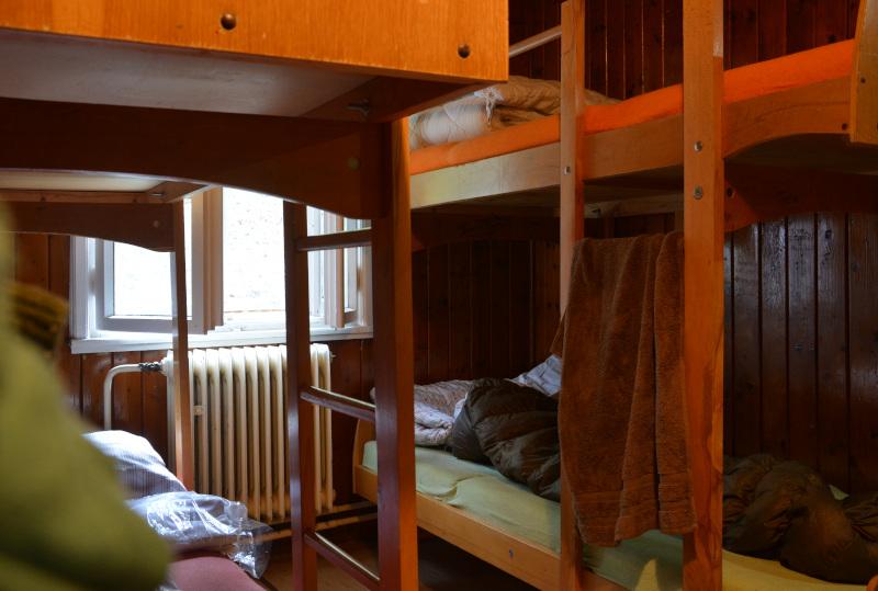 Mala Fatra - Mountain hut double bunk beds