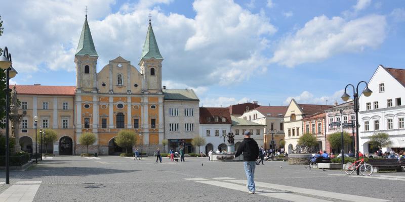 Zilina Marianna square