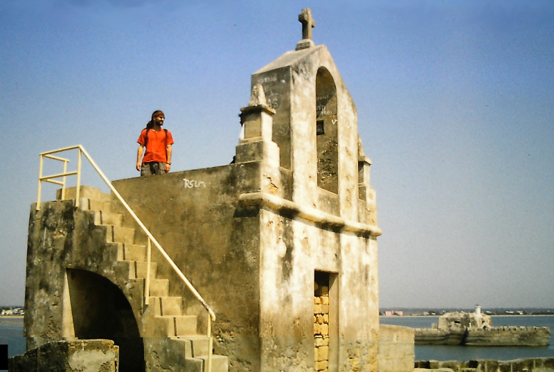 Tage auf Diu (Indische Insel in der Arabischen See)