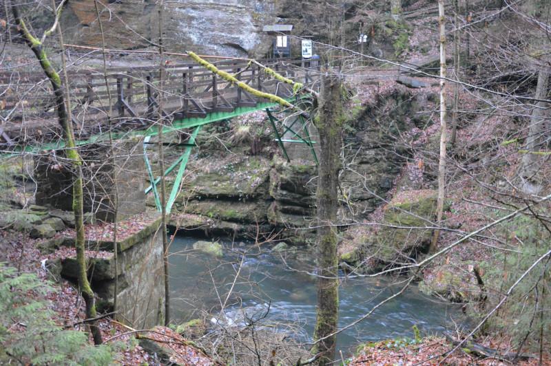 Kamenica Brücke, Böhmische Schweiz