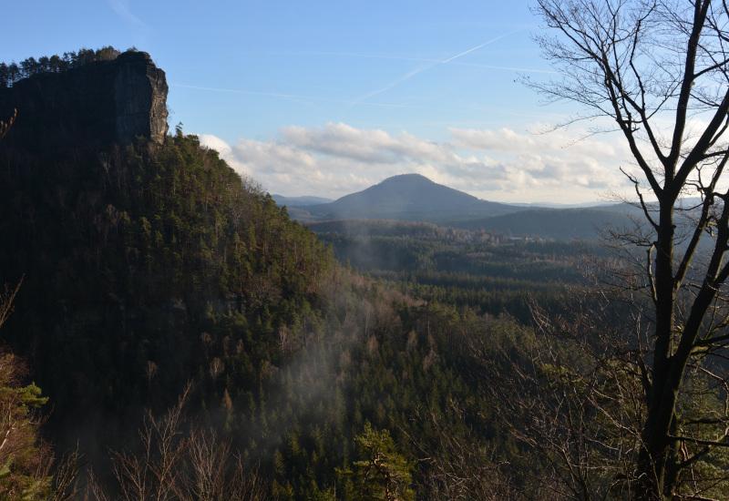 Blick zum Ruzovsky Vrch - Böhmische Schweiz