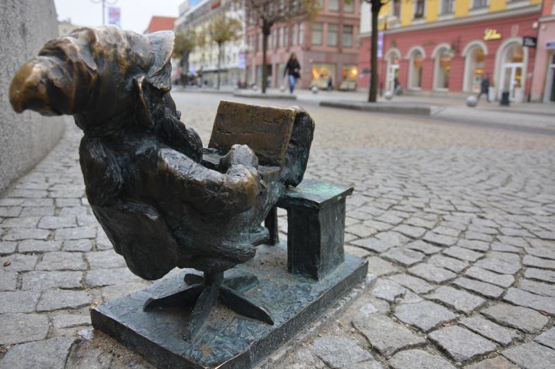 Bloggers Weltsicht  - Wroclaw Dwarfs blogger - Breslauer Zwerg - blogger