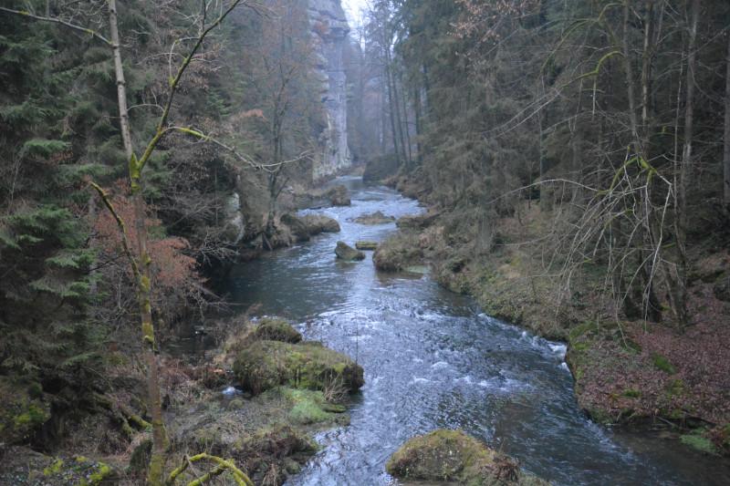 Wilde Klamm, Böhmische Schweiz