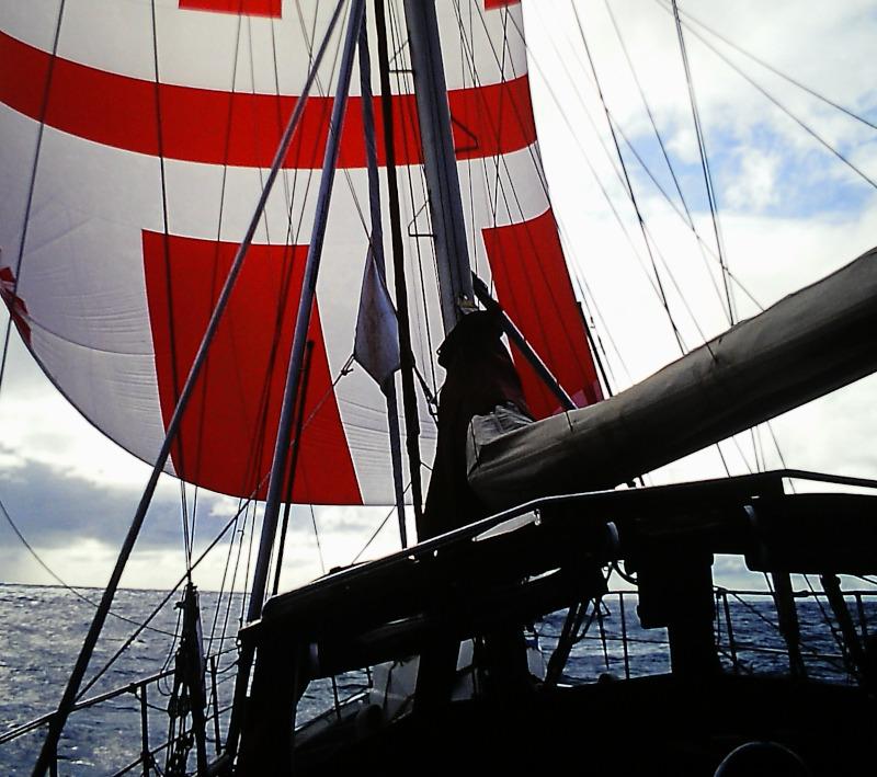Atlantik-Segeln unter Blister