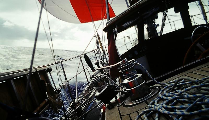 Atlantik-Segeln auf Lage