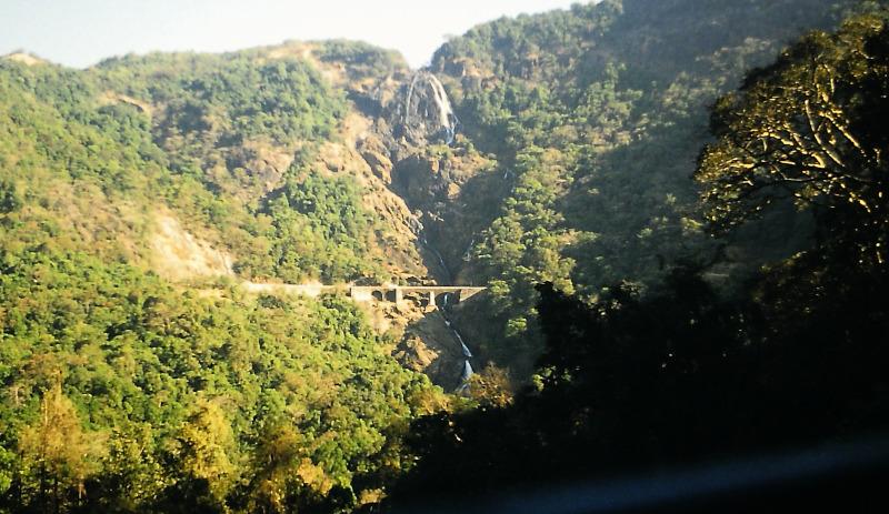 Concan Railway Dudhsagar Wasserfall