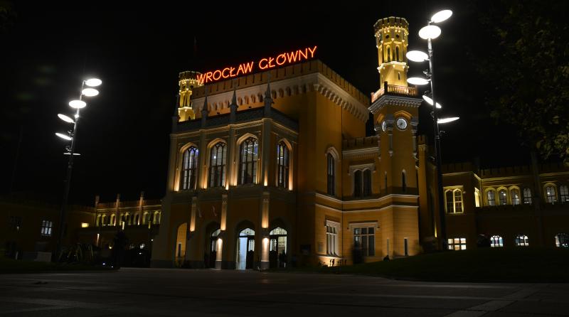 Wroclaw- historical Main railway station