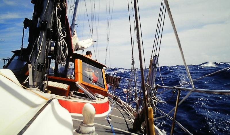 Unter Segeln über den Atlantik