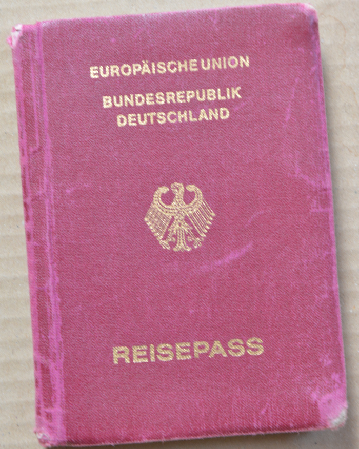 Reisepaß EU