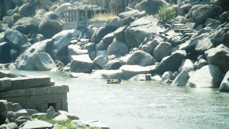 Hampi Thungabadra River