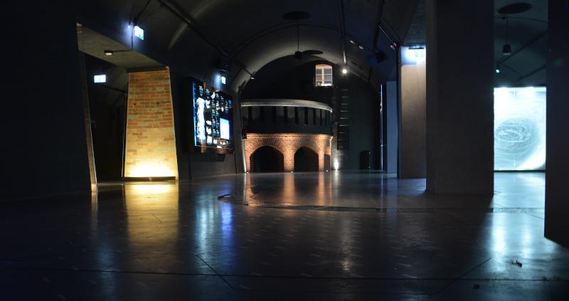 Wroclaw / Breslau Hydropolis - Ausstellung - Saal