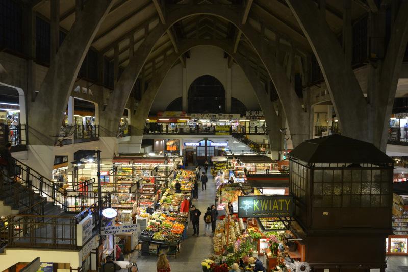 Wroclaw market hall  / Breslau Markthalle