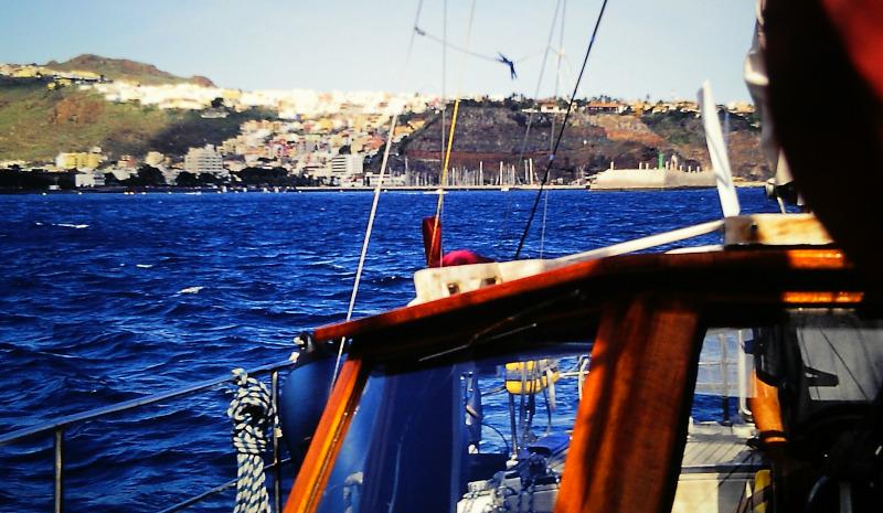 Atlantik-Segeln Rückblick San Sebastian
