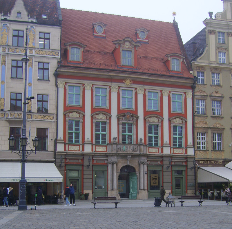 Wroclaw / Breslau - Pan Tadeusz - Museum - the House of the Golden Sun