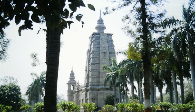Indien: Sarnath Gazellenhain Buddha 's Predigt nach der Erleuchtung