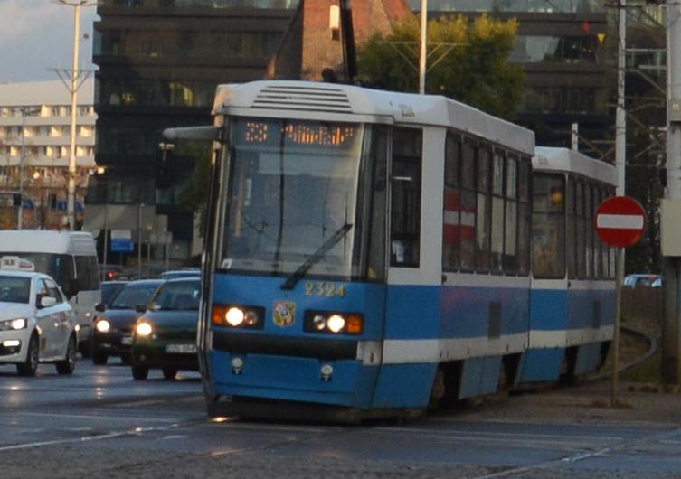 Wroclaw / Breslau - Straßenbahn