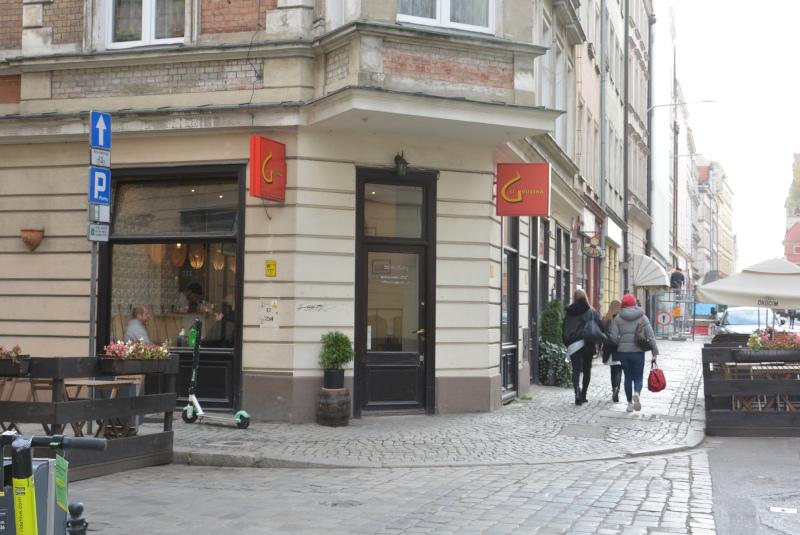 Wroclaw/ Breslau - U Gruzina - Georgisches Schnellrestaurant mitten unter Sehenswürdigkeiten