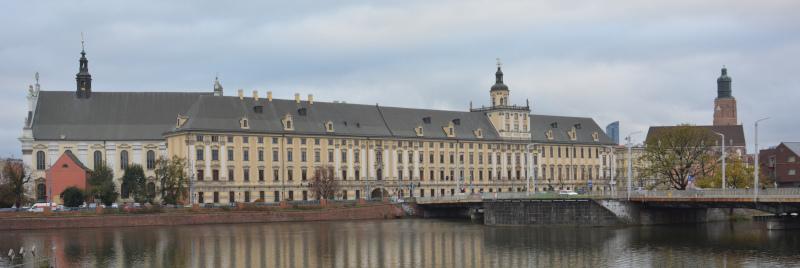 Wroclaw / Breslau University Building