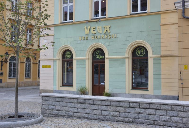 Wroclaw / Breslau vegan VEGA - Schnellrestaurant für Vegetarier und Veganer