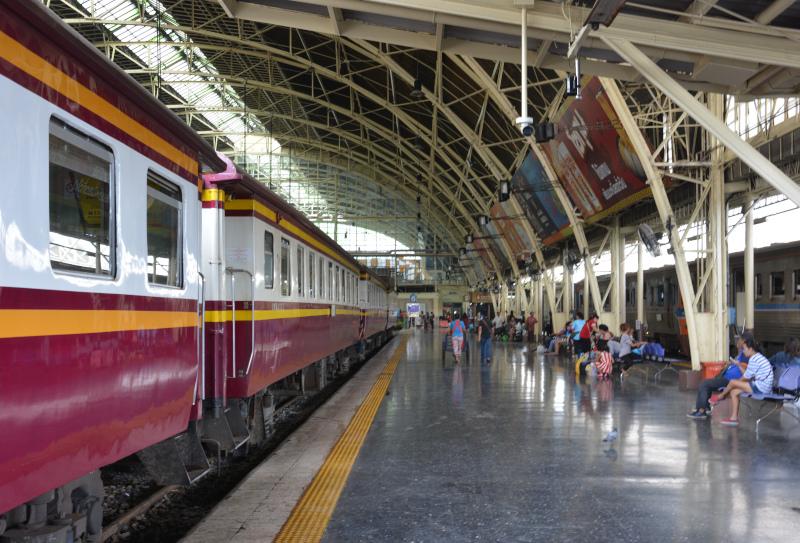Thailand: Bangkok Bahnhof Hua Lamphong
