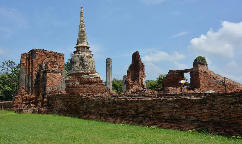 Thailand: Ayutthaya Tempelruine