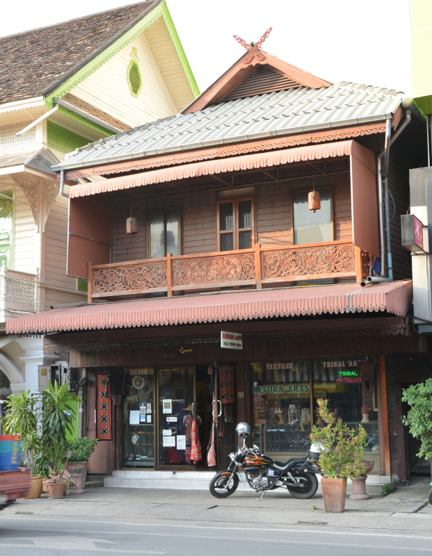Chiang Mai - Teak House