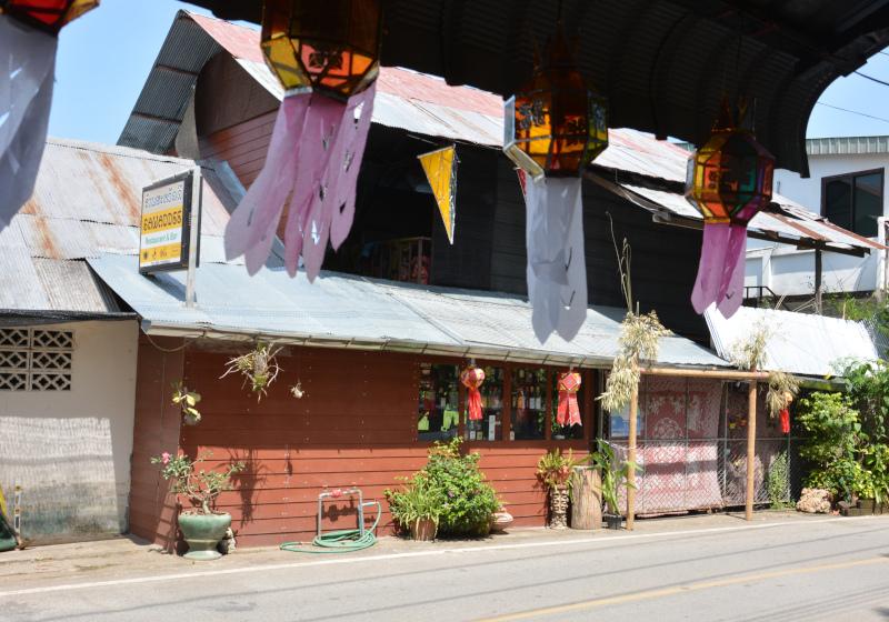 Sawadee Bar in Mae Sariang (Thailand Norden)