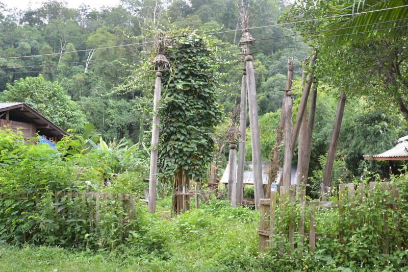 Karendorf in Thailands Norden