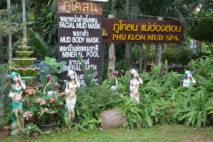 Thailands Phu Klon Mud Spa