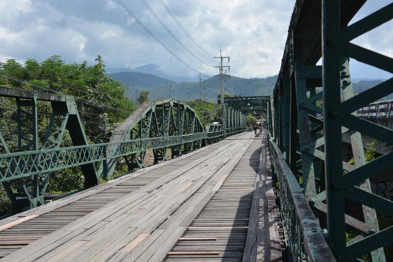 Thailands Weltkriegsbrücke bei Pai