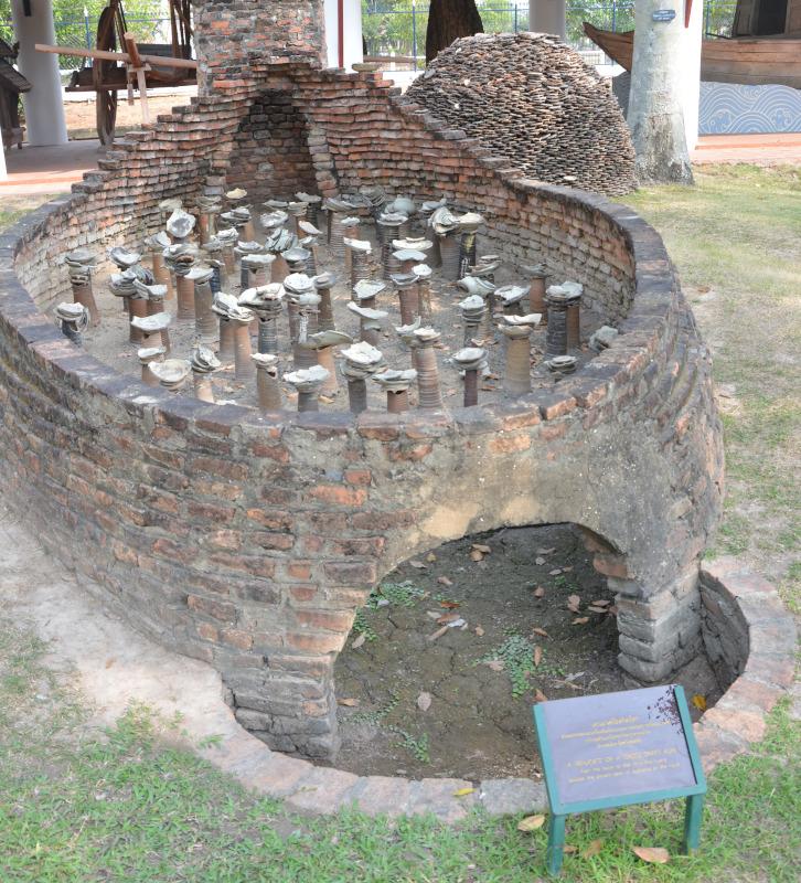 Nationales Thai-Museum iin Old Sukothai - Brennofen
