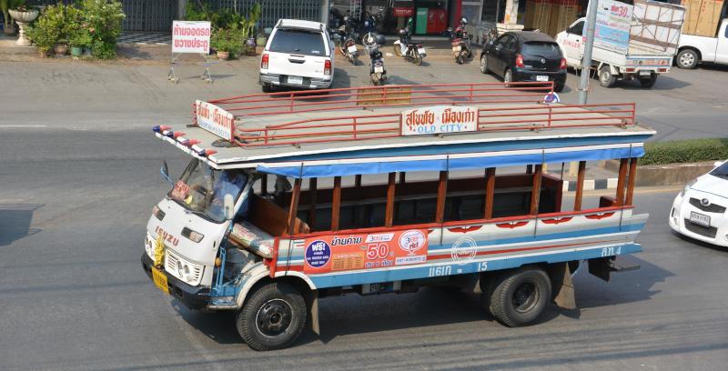 Thailand Sukothai Pendelbus