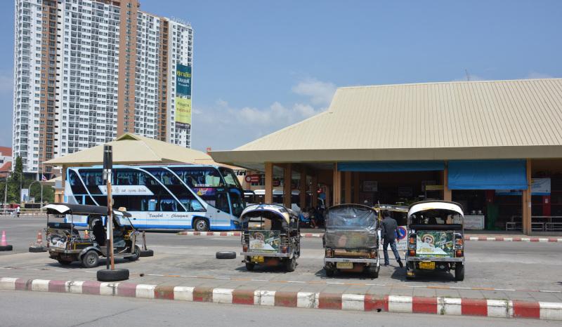 Thailand- Chiang Mai:  Arcade Bus-Station