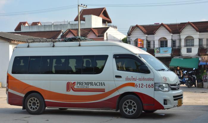 Thailands Kleinbusse