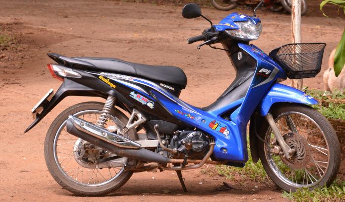 Thailands Hauptverkehrsmittel Scooter