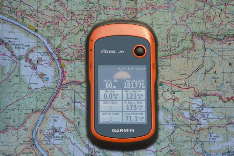Per GPS und openstreetmap – Karte zur Sonntagspizza