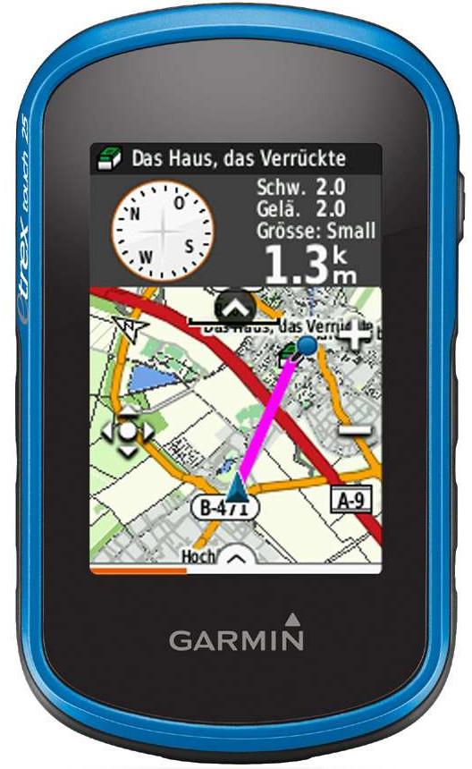 Garmin outdoor GPS Handy etrex 25 für Wanderer und GeoCacher